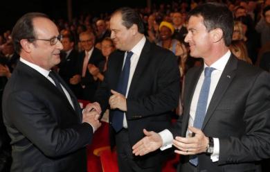 """On ne s'entoure pas de personnes """"jugées et condamnées"""". F.Hollande"""