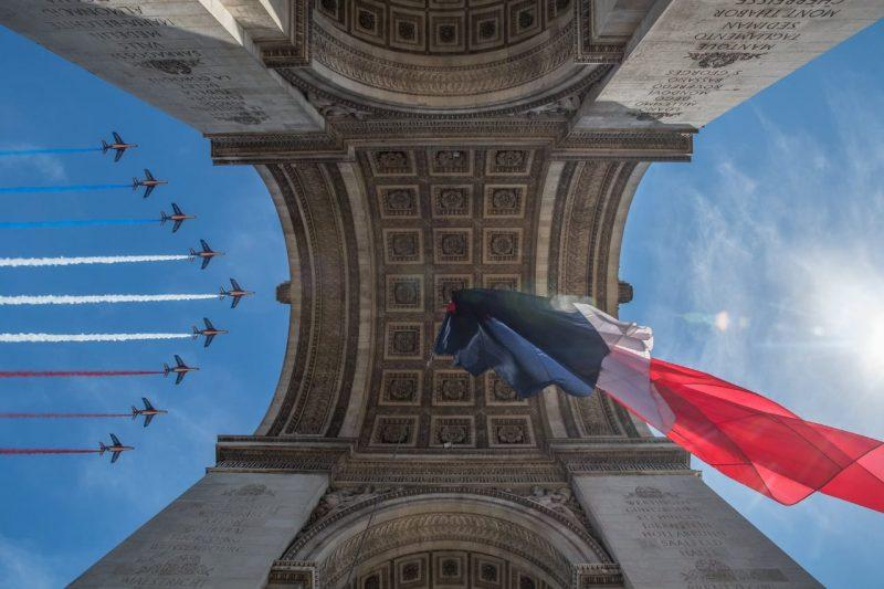 La patrouille de France le 14 juillet